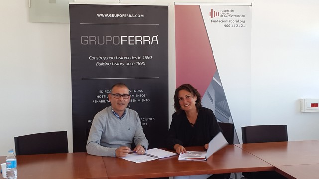 Grupo Ferrá enters into a partnership with the FLC for the implementation of the BIM methodology. Grupo Ferrá