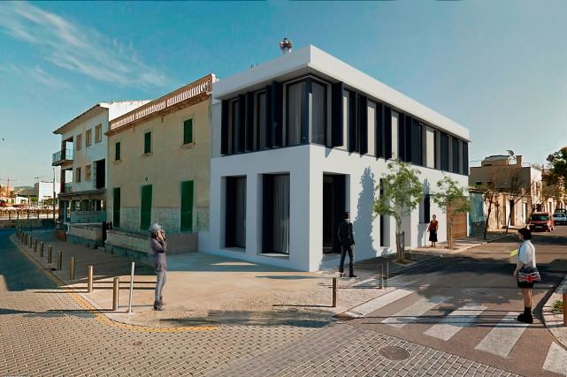 Projekt einer Wohnungsrenovierung in El Portixol