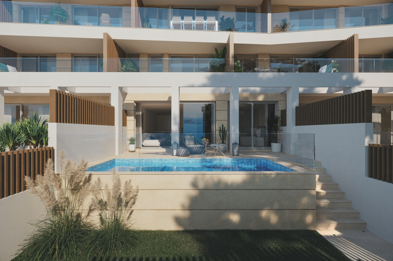 Construction imminent on a new residential complex at Cala Major