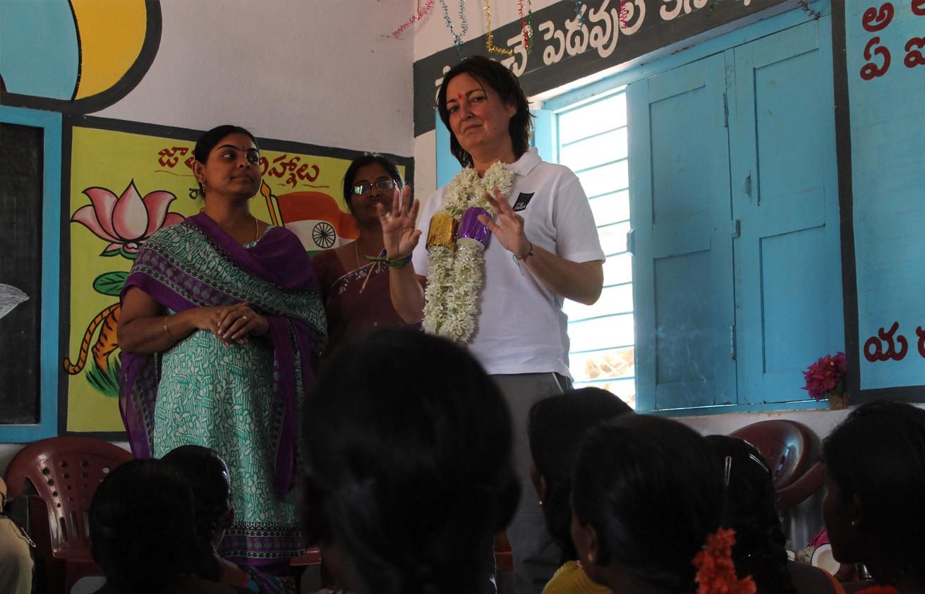 Eine Reise nach Indien, um das Resultat unseres Engagements kennenzulernen.